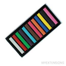 Hår kridt - 12 farver