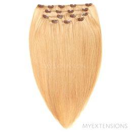 Clip on/off Original Hair extensions Lys rødblond nr. 18