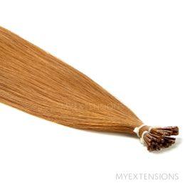 Cold Fusion Stick Luksus Hair extensions Mørk kobberblond nr. 11