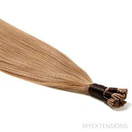 Cold Fusion Stick Luksus Hair extensions Lys askbrun nr. 12B