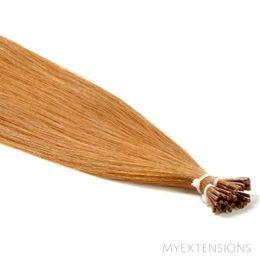 Cold Fusion Stick Luksus Hair extensions Mellem kobberblond nr. 13
