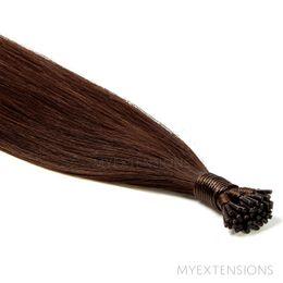Cold Fusion Stick Luksus Hair extensions Mørkbrun nr. 2