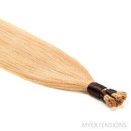 Cold Fusion Stick Luksus Hair extensions Lys rødblond nr. 18