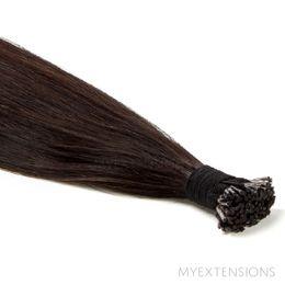 Cold fusion Stick Original Hair extensions Ekstra mørkbrun nr. 1B