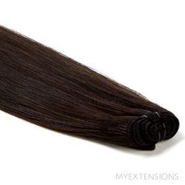 Hår trense Original Hair extensions Ekstra mørkbrun nr. 1B