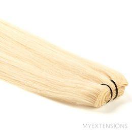 Hår trense Original Hair extensions Lys gyldenblond nr. 613