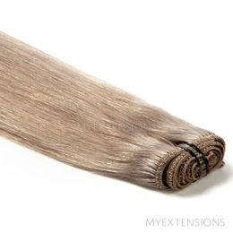 Hår trense Original Hair extensions Mørk askblond nr. 17B