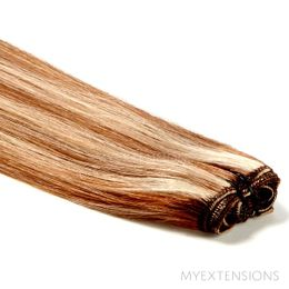 Hår trense Original Hair extensions Mix nr. 7/18