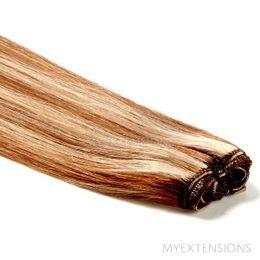 Hår trense Original Hair extensions Mix nr. 7/18