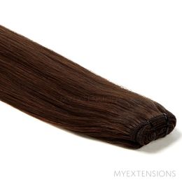 Hår trense Original Hair extensions Mørkbrun nr. 2