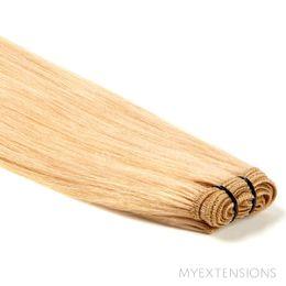 Hår trense Original Hair extensions Lys rødblond nr. 18