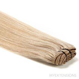 Hår trense Original Hair extensions Mørk askblond nr. 16B