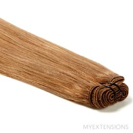 Hår trense Original Hair extensions Lys brun nr. 10