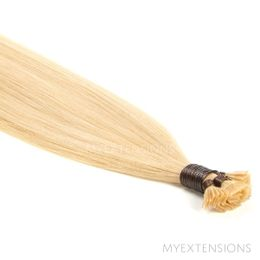 Hot Fusion Luksus Hair extensions Gyldenblond nr. 22