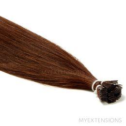 Hot Fusion Luksus Hair extensions Mørk kastanjebrun nr. 4