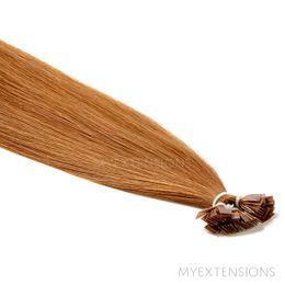 Hot Fusion Luksus Hair extensions Mellem kobberbrun nr. 9