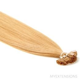 Hot Fusion Luksus Hair extensions Mørk rødblond nr. 14