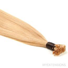 Hot Fusion Luksus Hair extensions Lys rødblond nr. 18