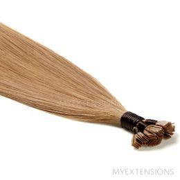 Hot Fusion Luksus Hair extensions Lys askbrun nr. 12B