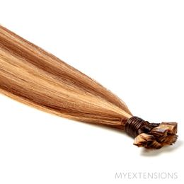 Hot Fusion Luksus Hair extensions Mix nr. 7/18