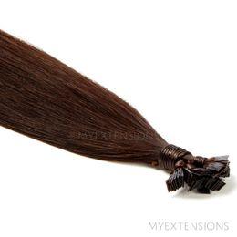 Hot Fusion Luksus Hair extensions Mørkbrun nr. 2