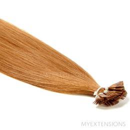 Hot Fusion Luksus Hair extensions Mørk kobberblond nr. 11
