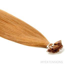 Hot Fusion Luksus Hair extensions Mellem kobberblond nr. 13