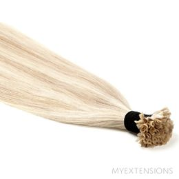 Hot fusion Original Hair extensions Mix nr. 16B/60A