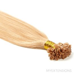 Hot fusion Original Hair extensions Lys rødblond nr. 18