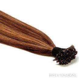 Hot fusion Original Hair extensions Mix nr. 4/7