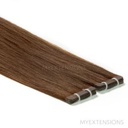 Tape baner Luksus Hair extensions Askbrun nr. 5B