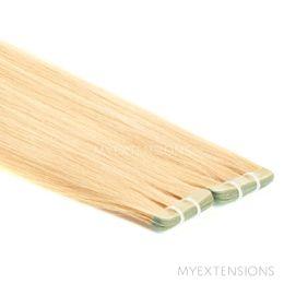 Tape baner Luksus Hair extensions Gyldenblond nr. 22