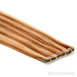 Tape baner Luksus Hair extensions Mix nr. 7/18
