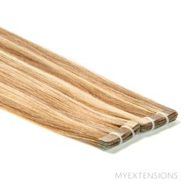 Tape baner Luksus Hair extensions Mix nr. 10/22
