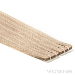 Tape baner Luksus Hair extensions Mørk askblond nr. 16B