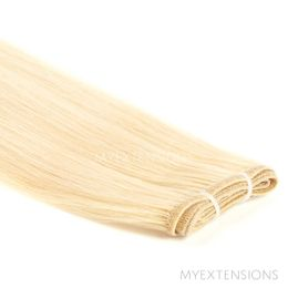 Hår Trense Luksus Hair extensions Lys gyldenblond nr. 613