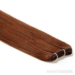 Hår Trense Luksus Hair extensions Rødbrun nr. 6