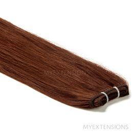 Hår Trense Luksus Hair extensions Kastanjebrun nr. 5