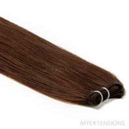 Hår Trense Luksus Hair extensions Mørk naturbrun nr. 3