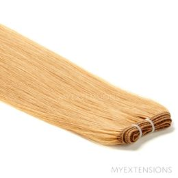 Hår Trense Luksus Hair extensions Mørk rødblond nr. 14