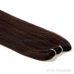 Hår Trense Luksus Hair extensions Ekstra mørkbrun nr. 1B