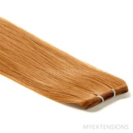Hår Trense Luksus Hair extensions Mørk kobberblond nr. 11