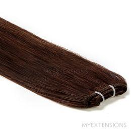 Hår Trense Luksus Hair extensions Mørkbrun nr. 2