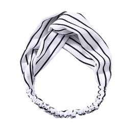 Aurora hårbånd Kurser White Stripes