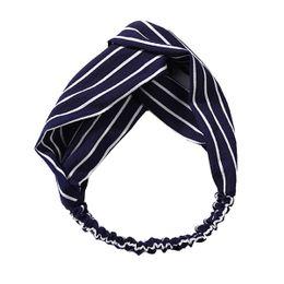 Aurora hårbånd Kurser Blue Stripes