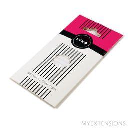 LYXO hårelastikker  Transparent