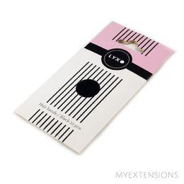 LYXO hårelastikker  Sort