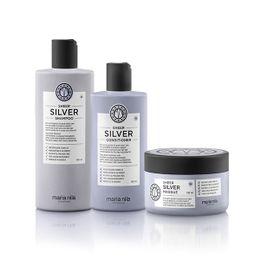 Plejepakke til lysnet hår - Silver 01 Plejeprodukter