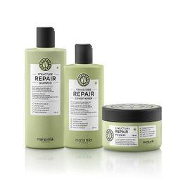 Plejepakke til skadet hår - Light 01 Plejeprodukter