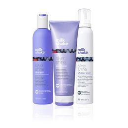 Plejepakke til lysnet hår - Silver 02 Plejeprodukter